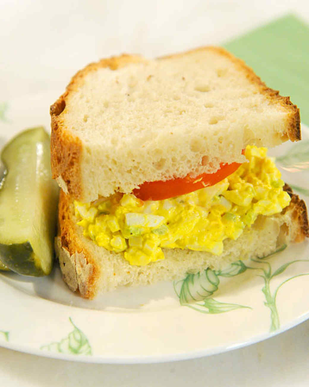 Mom's Egg Salad Sandwich Recipe & Video | Martha Stewart