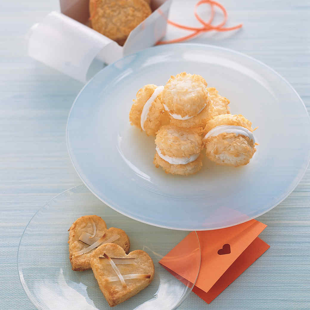 Coconut Cream-Filled Macaroons