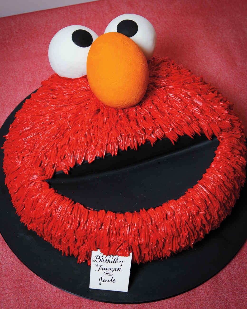 Celebrating With Elmo: Birthday Party