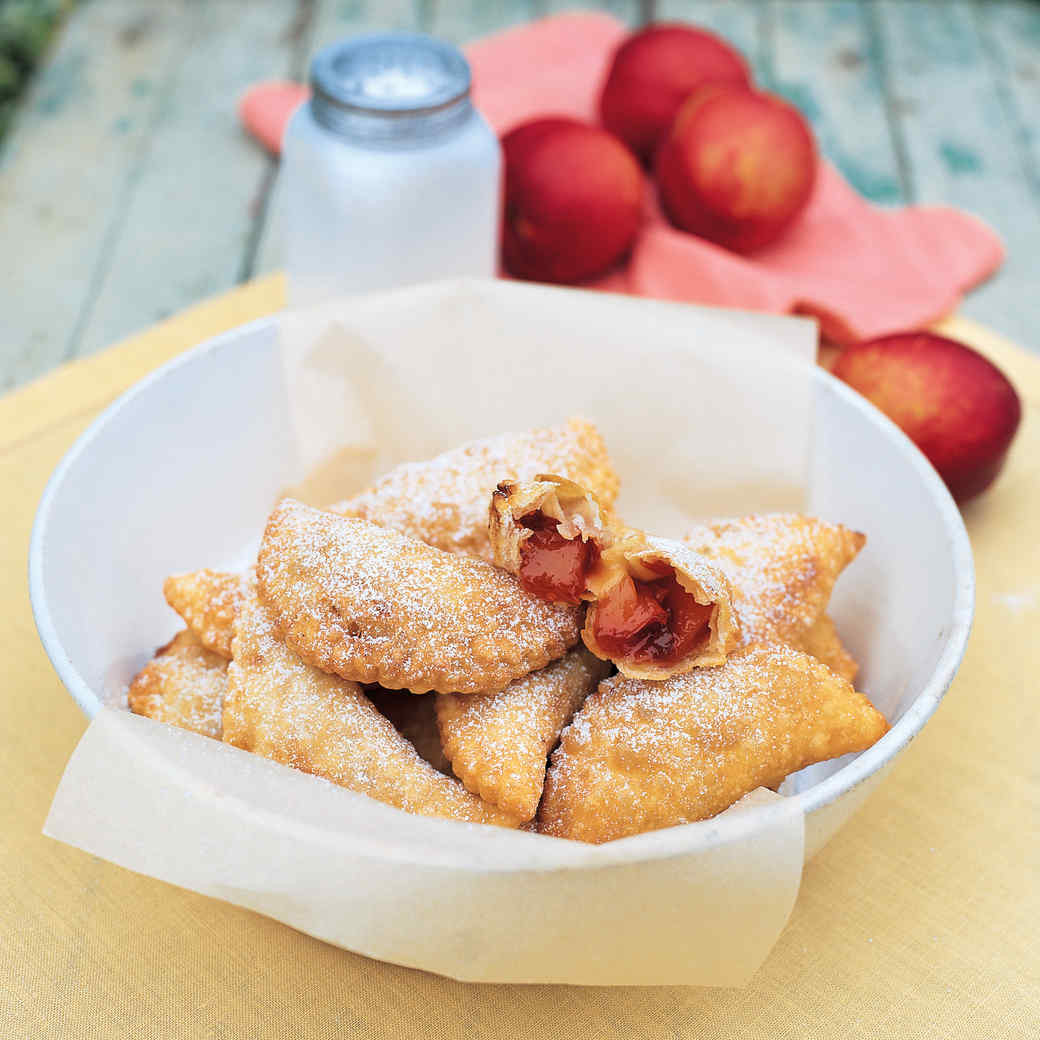 Warm Nectarine Turnovers