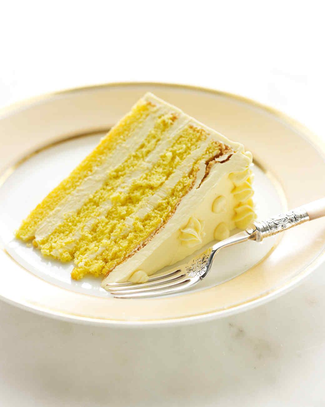 Martha Stewart Passion Fruit Cake