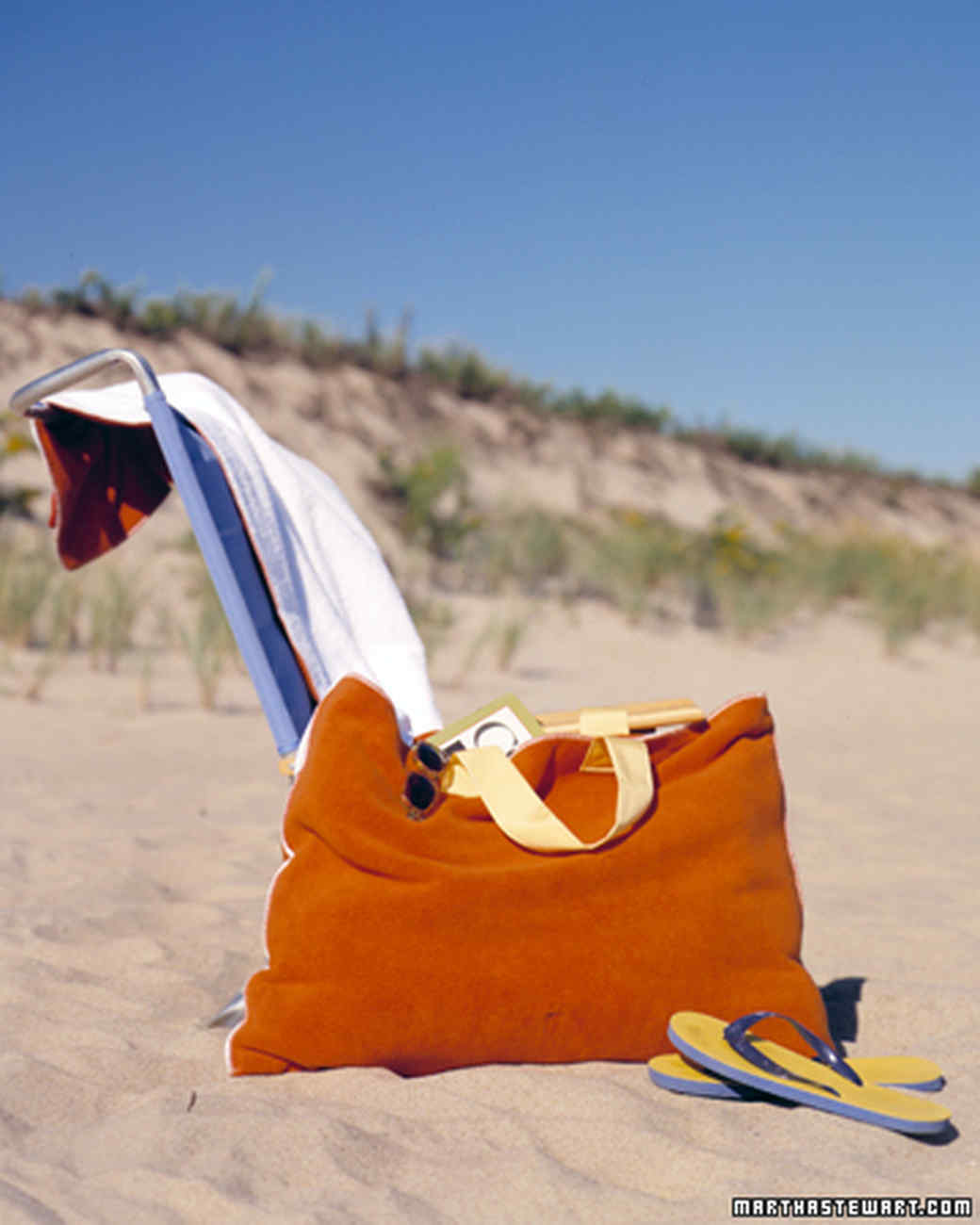 Beach Blanket Experiment: Beach-Towel Bag