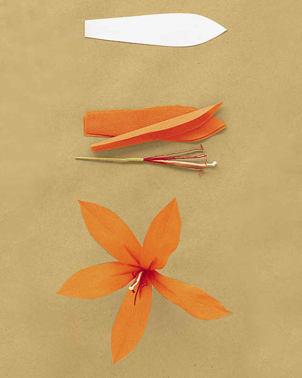 how to make large crepe paper flowers