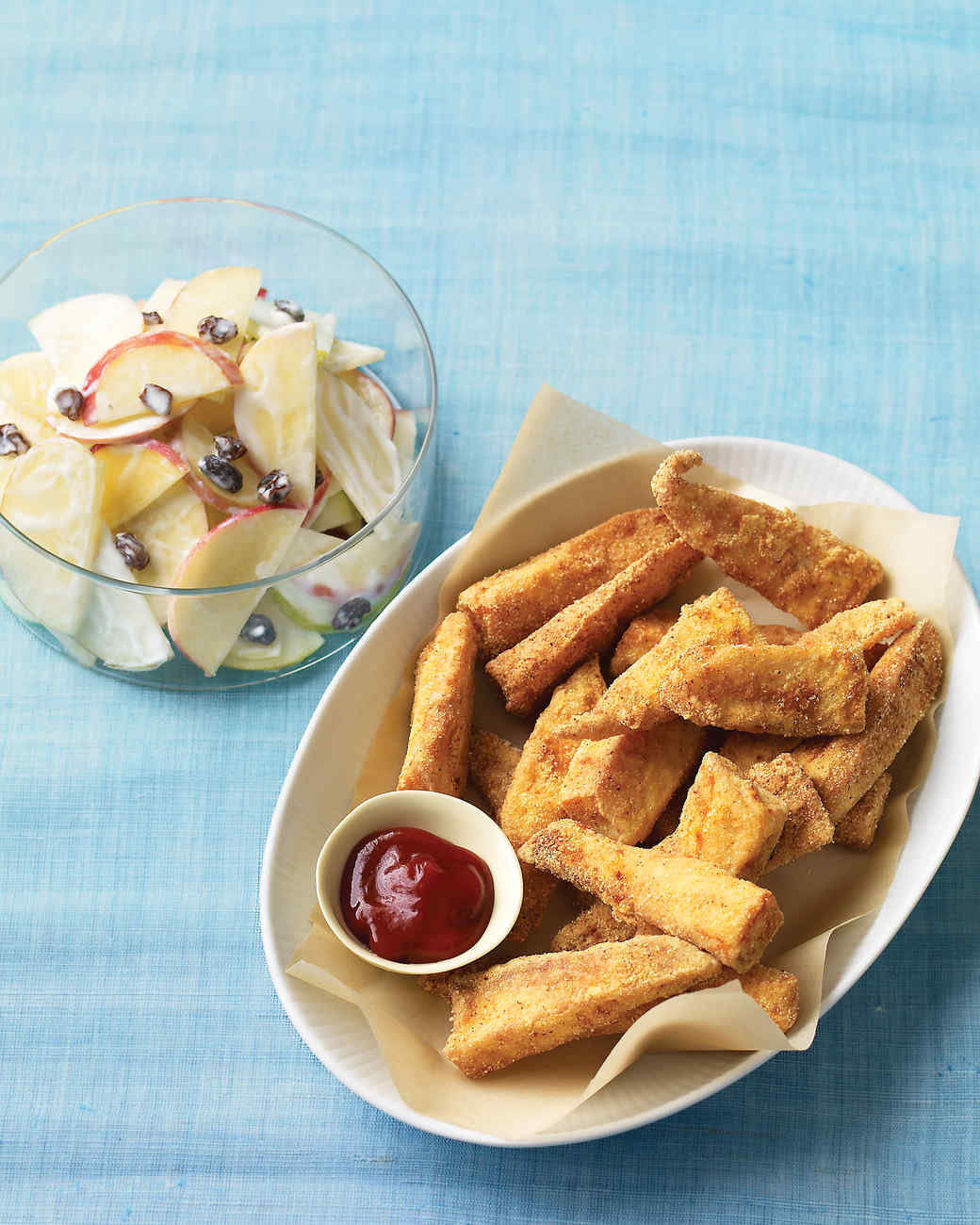 Fried fish and shellfish recipes martha stewart for Cornmeal fried fish