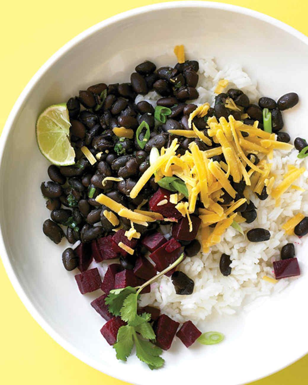 Чёрный рис рецепты с фото
