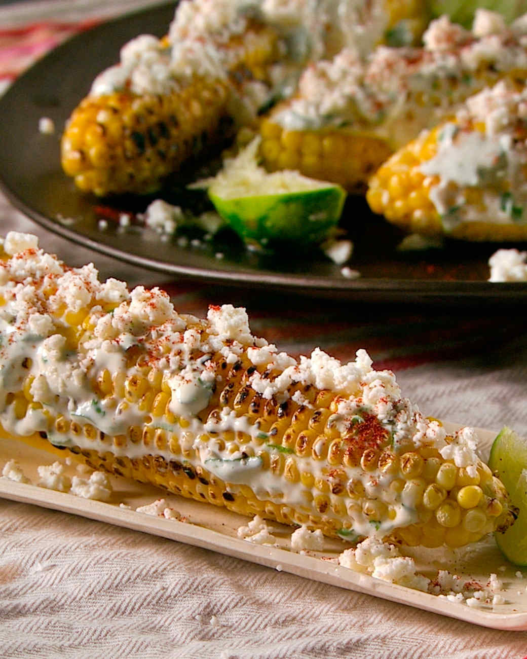 Corn Stalk Mexican Food