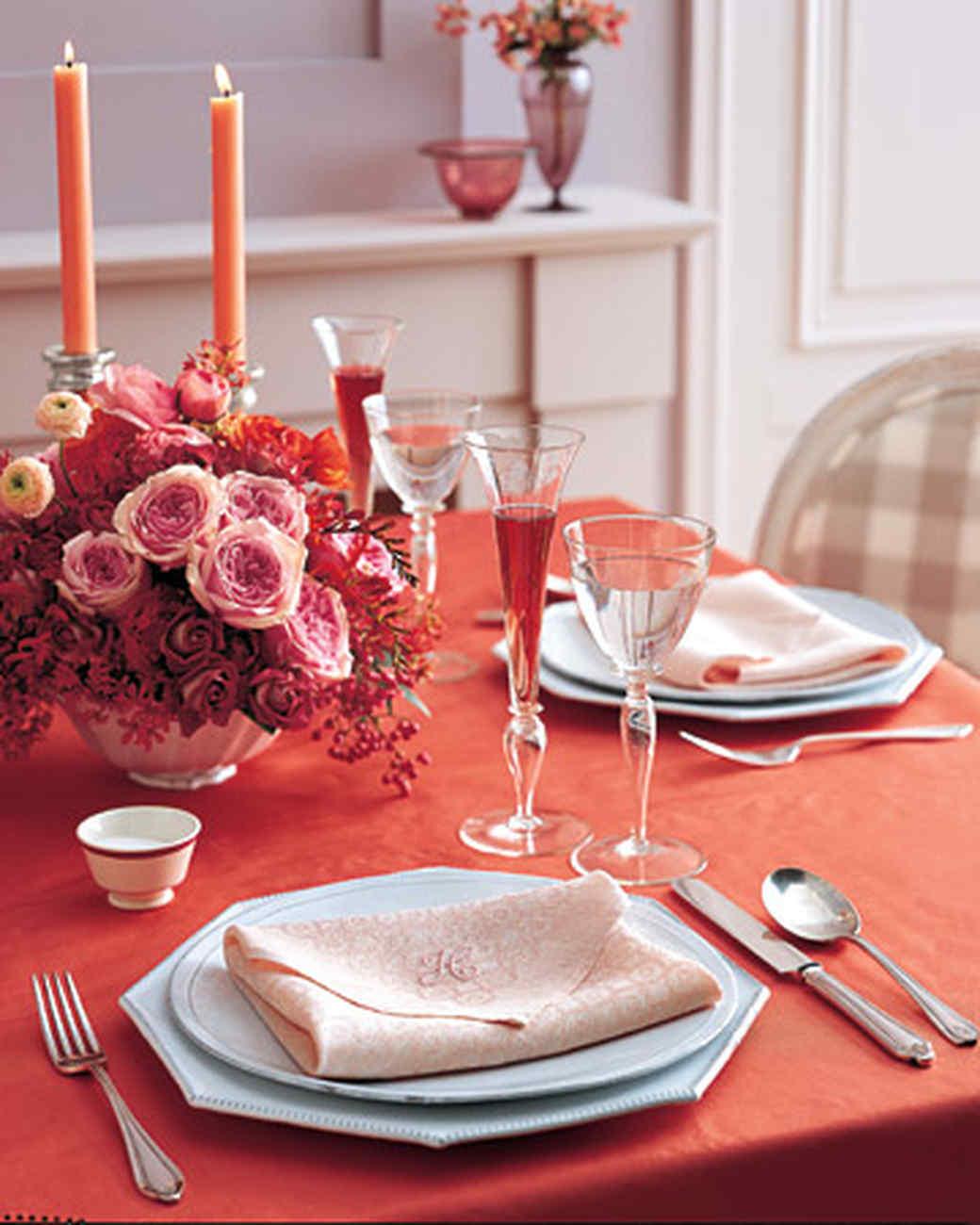 Как сделать уютный романтический ужин своими руками 7