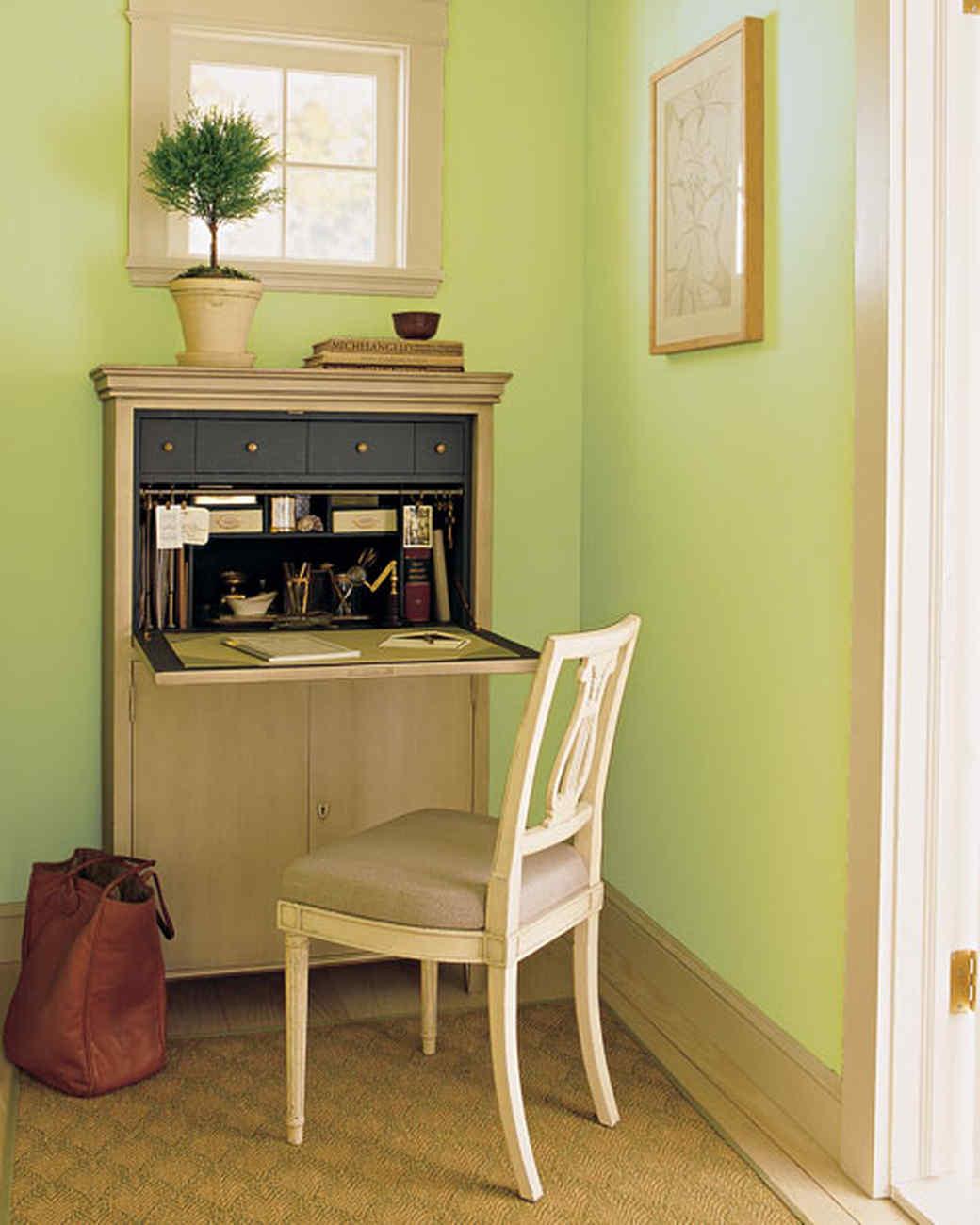 Компактный домашний офис: несколько идей для мини-кабинета.