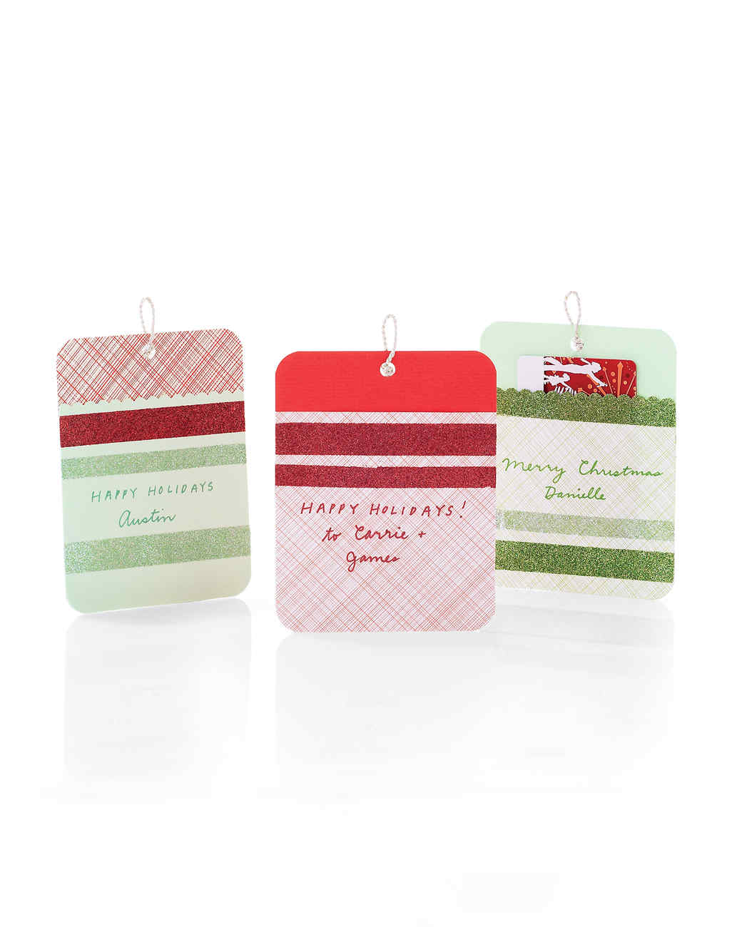 Sparkling gift tags martha stewart for Martha stewart gift tag template