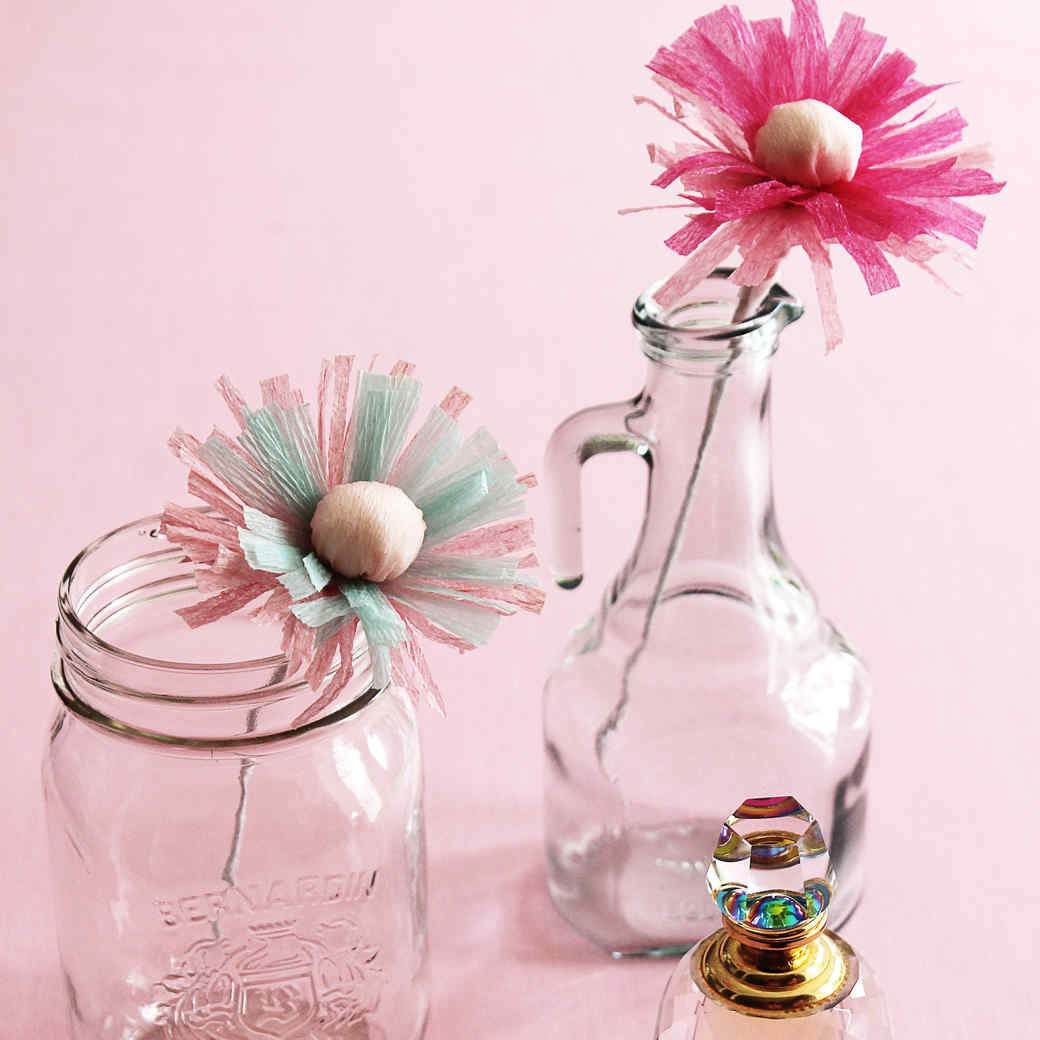 Scented Paper Flowers