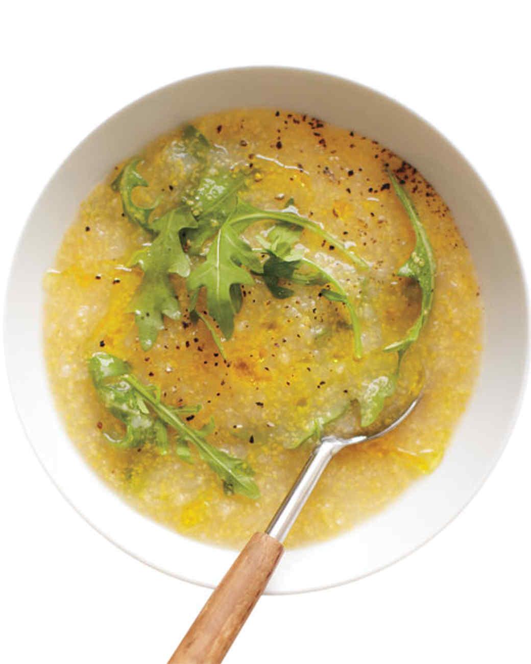 Lemon-Arugula Soup