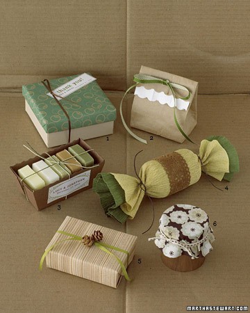 Gift wrapping ideas martha stewart for How to wrap presents with wrapping paper