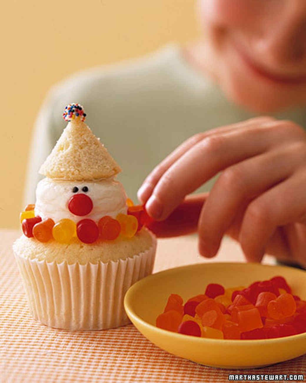 Clown Cupcakes
