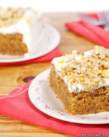 Martha stewart carrot cake cheesecake recipe