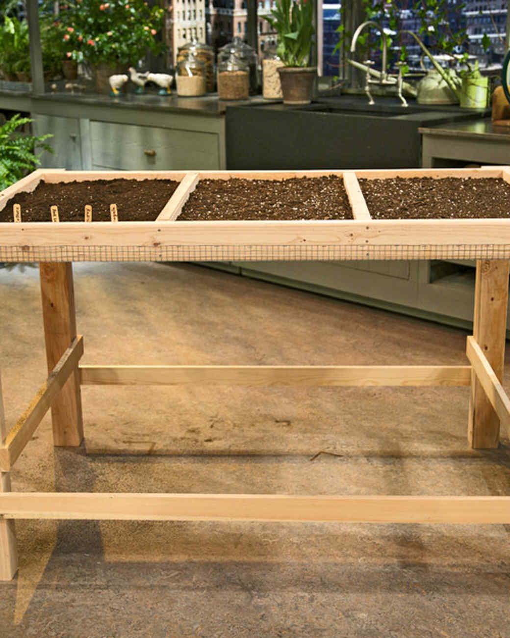 Salad Table Video Martha Stewart
