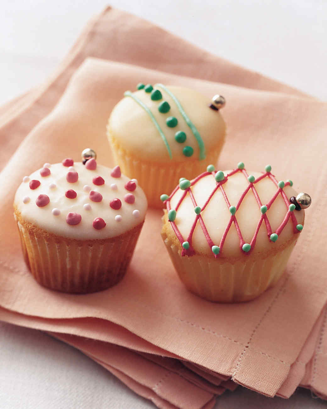 Cupcake Ornaments Recipe Martha Stewart