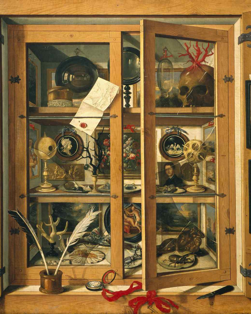 How to Create a Cabinet of Curiosities for Halloween