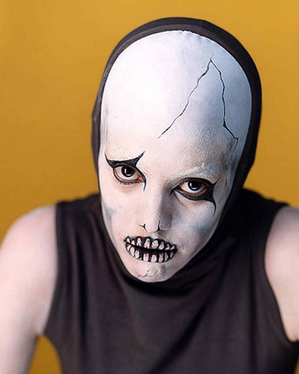 Skeleton makeup martha stewart - Disfraces halloween caseros ...