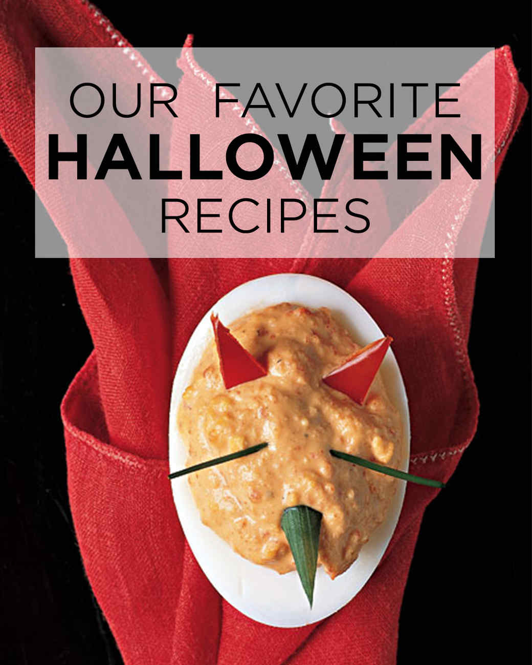 bedeviled eggs - Gourmet Halloween Recipes
