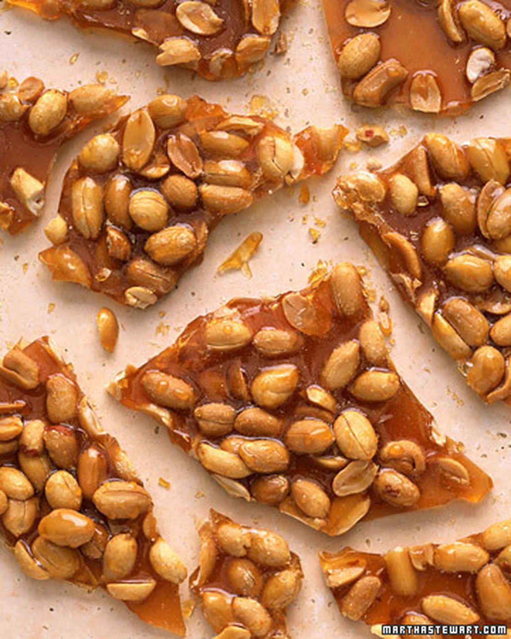 Peanut Brittle Recipe | Martha Stewart