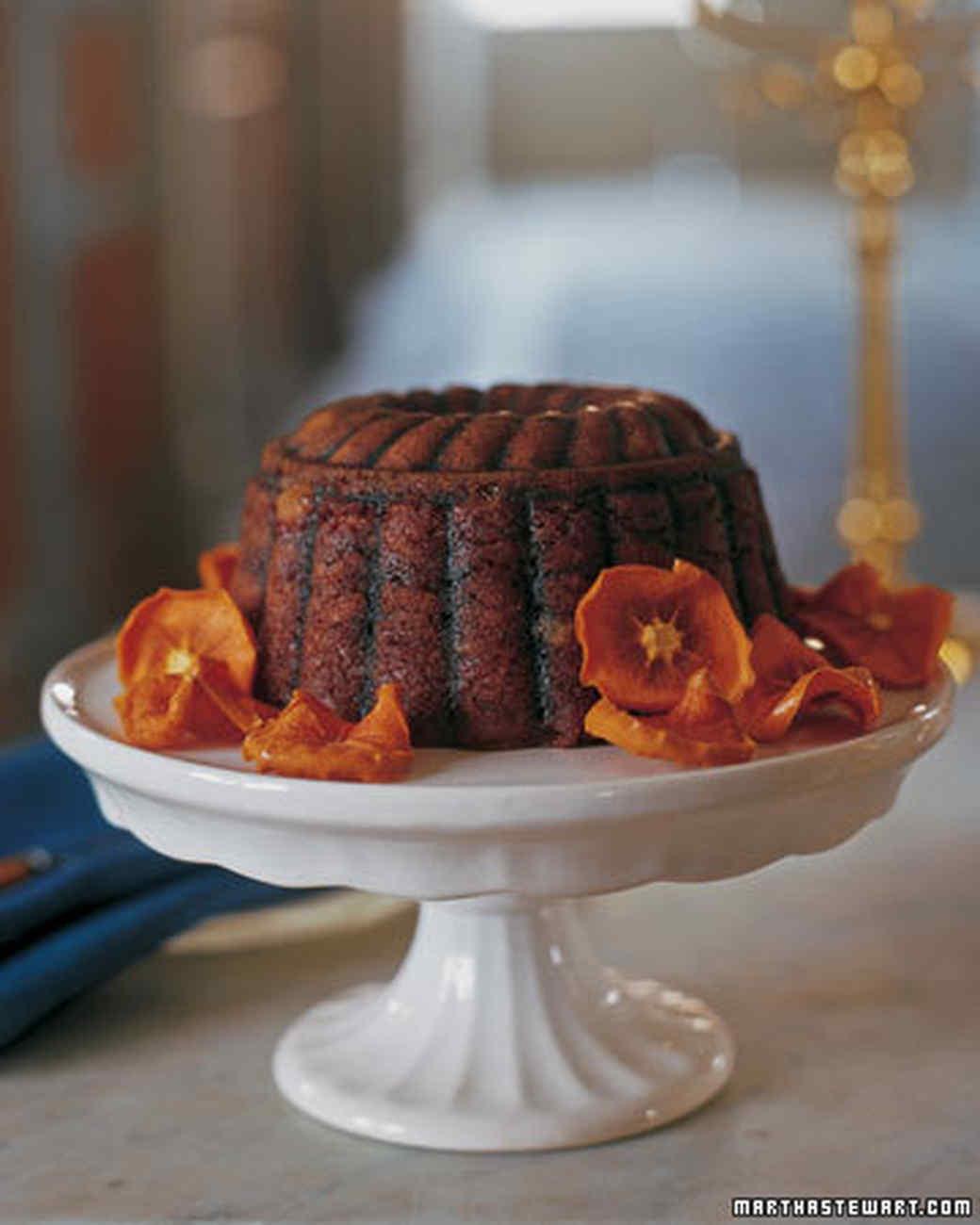Persimmon Pudding Recipes Steamed persimmon pudding recipe martha ...