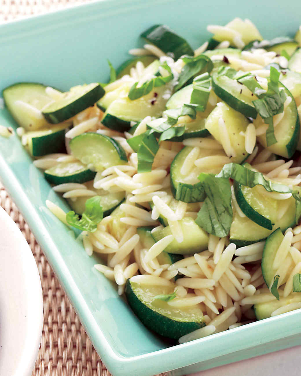 Orzo and Zucchini Salad Recipe | Martha Stewart