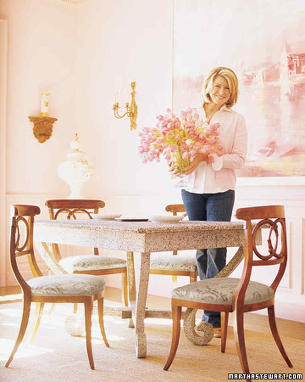 Martha Stewart Dining Room  Cteamus - Martha stewart dining room table