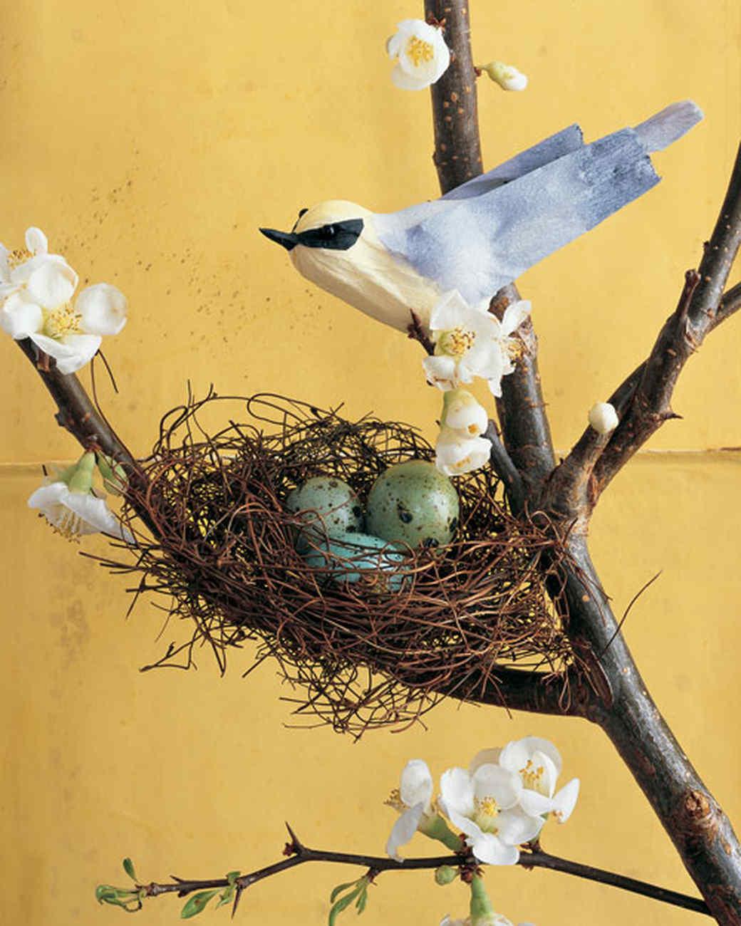 Как сделать из бумаги гнездо