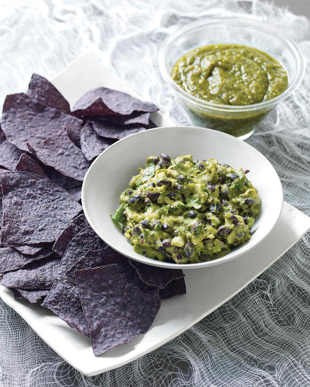 Guacamole with Black Beans Recipe | Martha Stewart