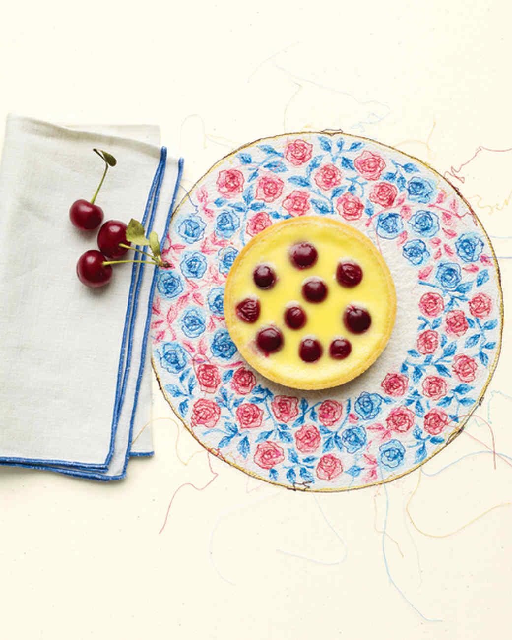 Sour Cherry Clafoutis