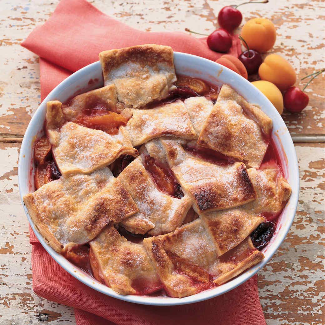 Apricot Cherry Bake