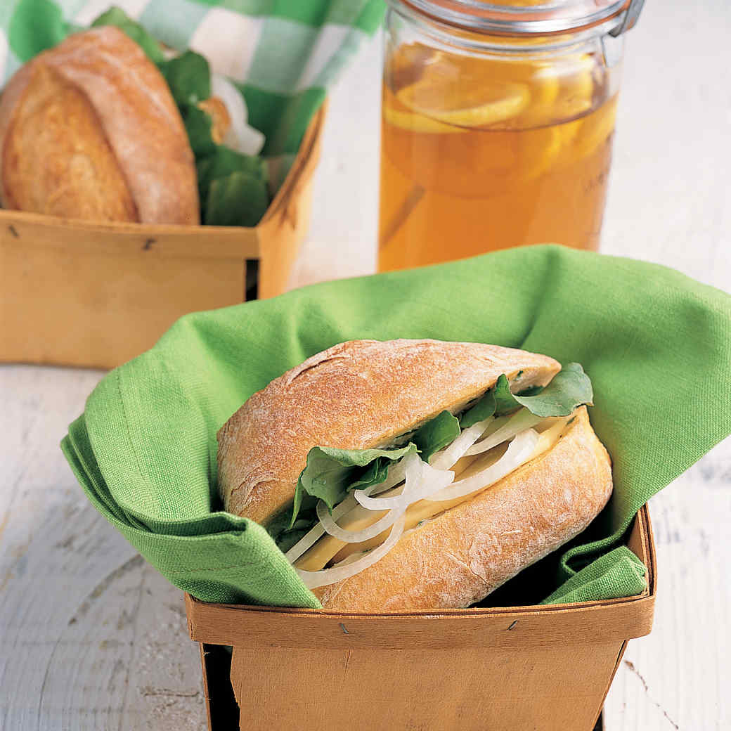 Sweet Onion Sandwiches