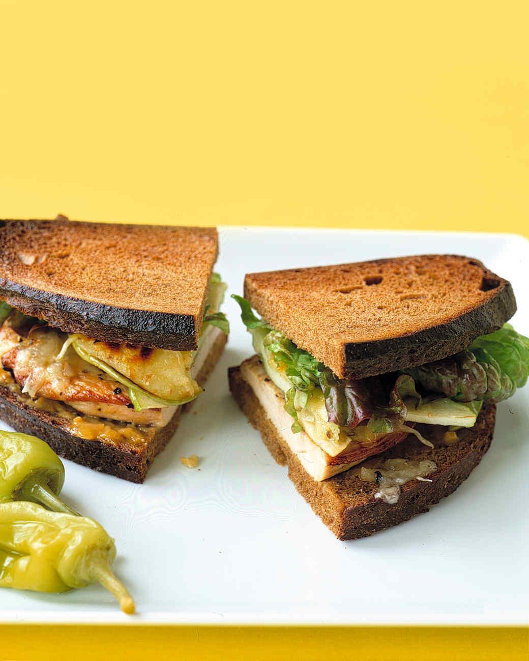 Turkey Sandwich at Olivia's Market ($6.00)..