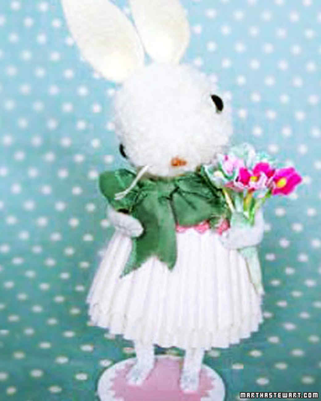 Pom Pom Bunny Amp Video Martha Stewart