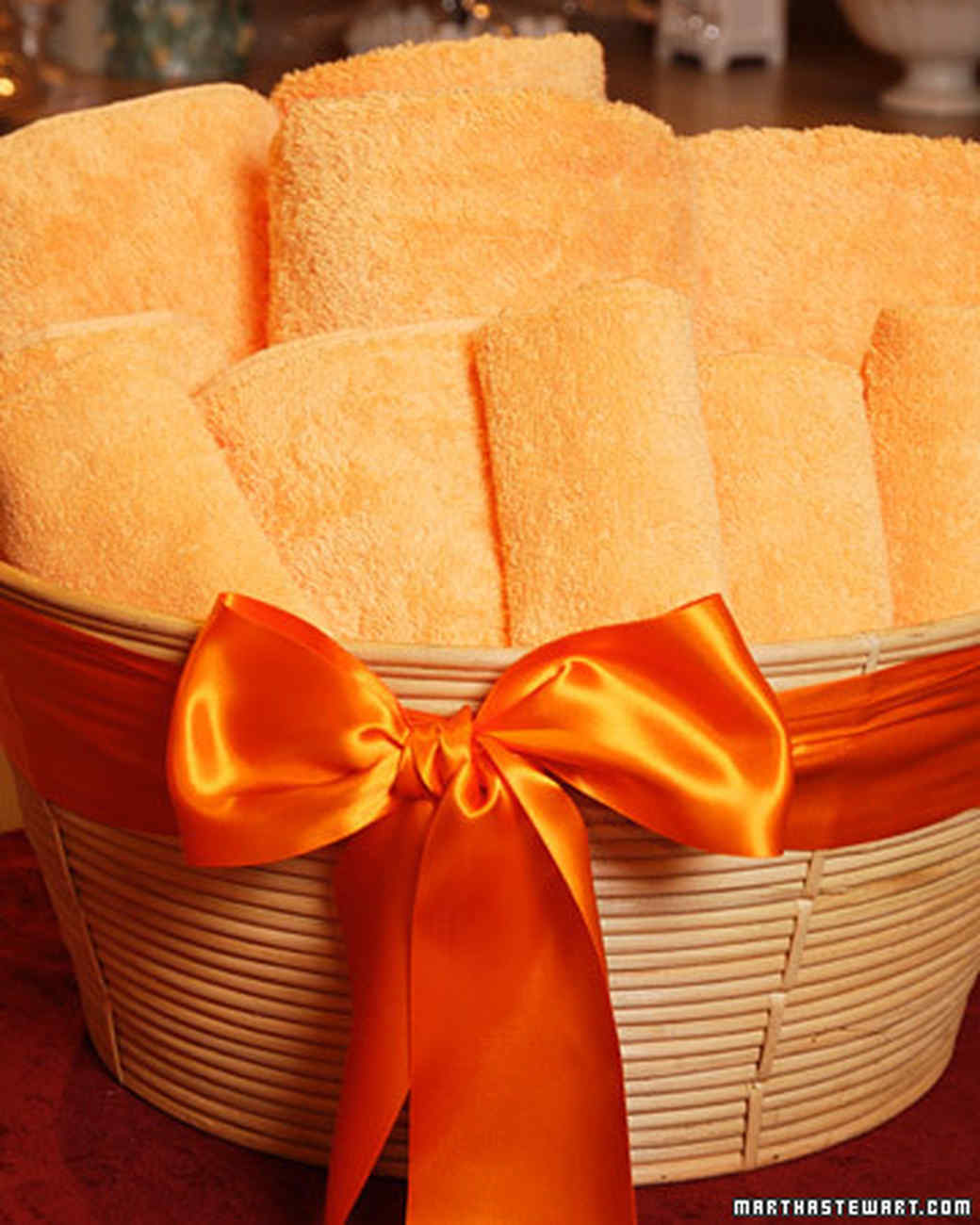 Towel Gift Basket Video Martha Stewart