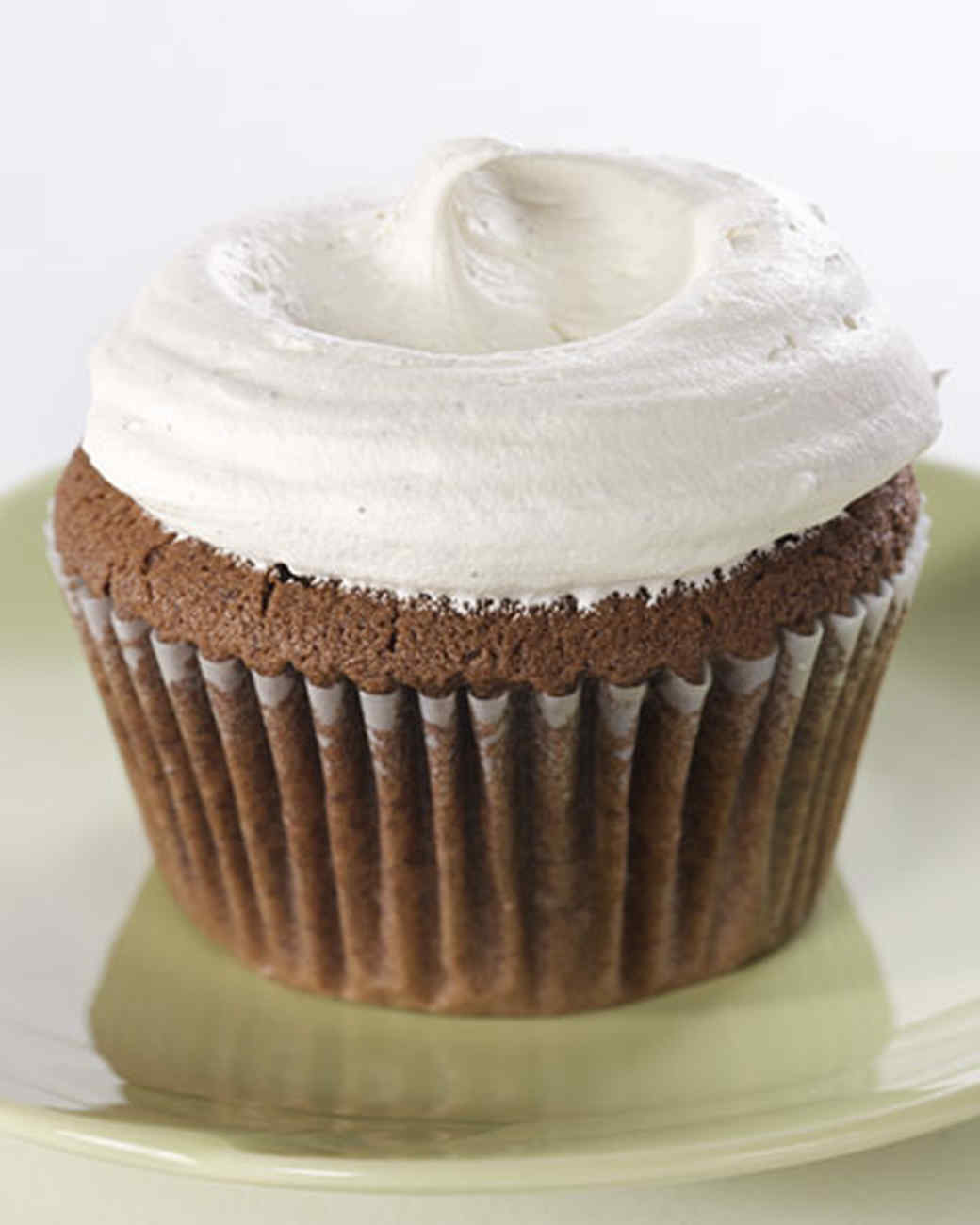 Chocolate Cupcakes with Vanilla French Buttercream Recipe & Video ...