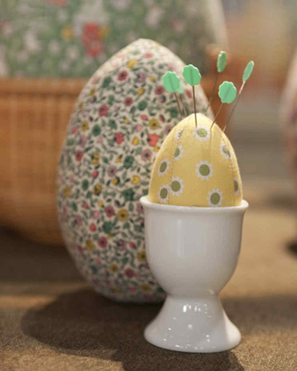 Fabric Easter Eggs Amp Video Martha Stewart