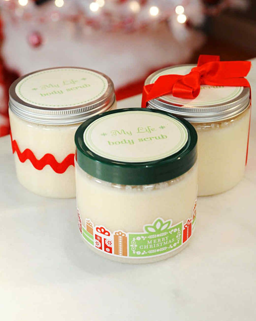 Sugar scrubs are a thoughtful gift you can easily create, right in your own kitchen. It only takes a few simple ingredients to put together a wonderfully scented scrub that can rival anything found at a .