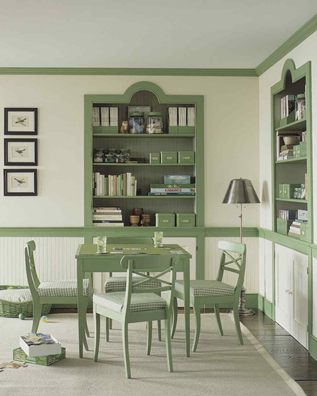 Mint Green Rooms green rooms | martha stewart