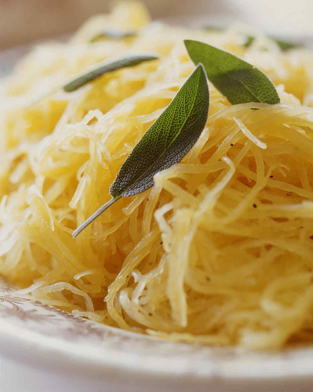 Spaghetti Squash with Sage and Orange