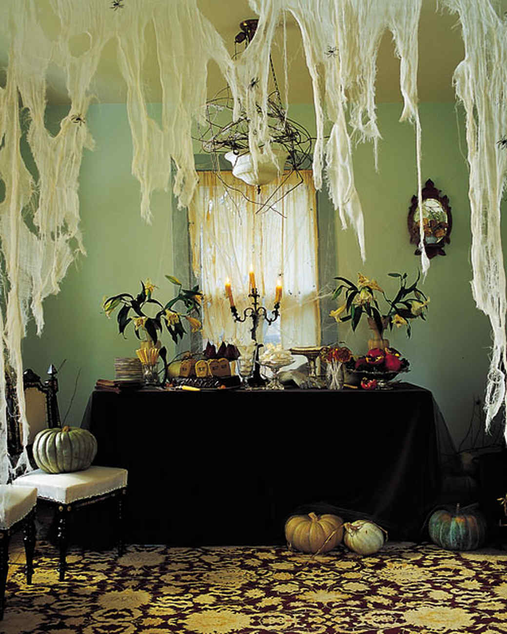 Halloween Home Decor Ideas: Halloween Party Menus