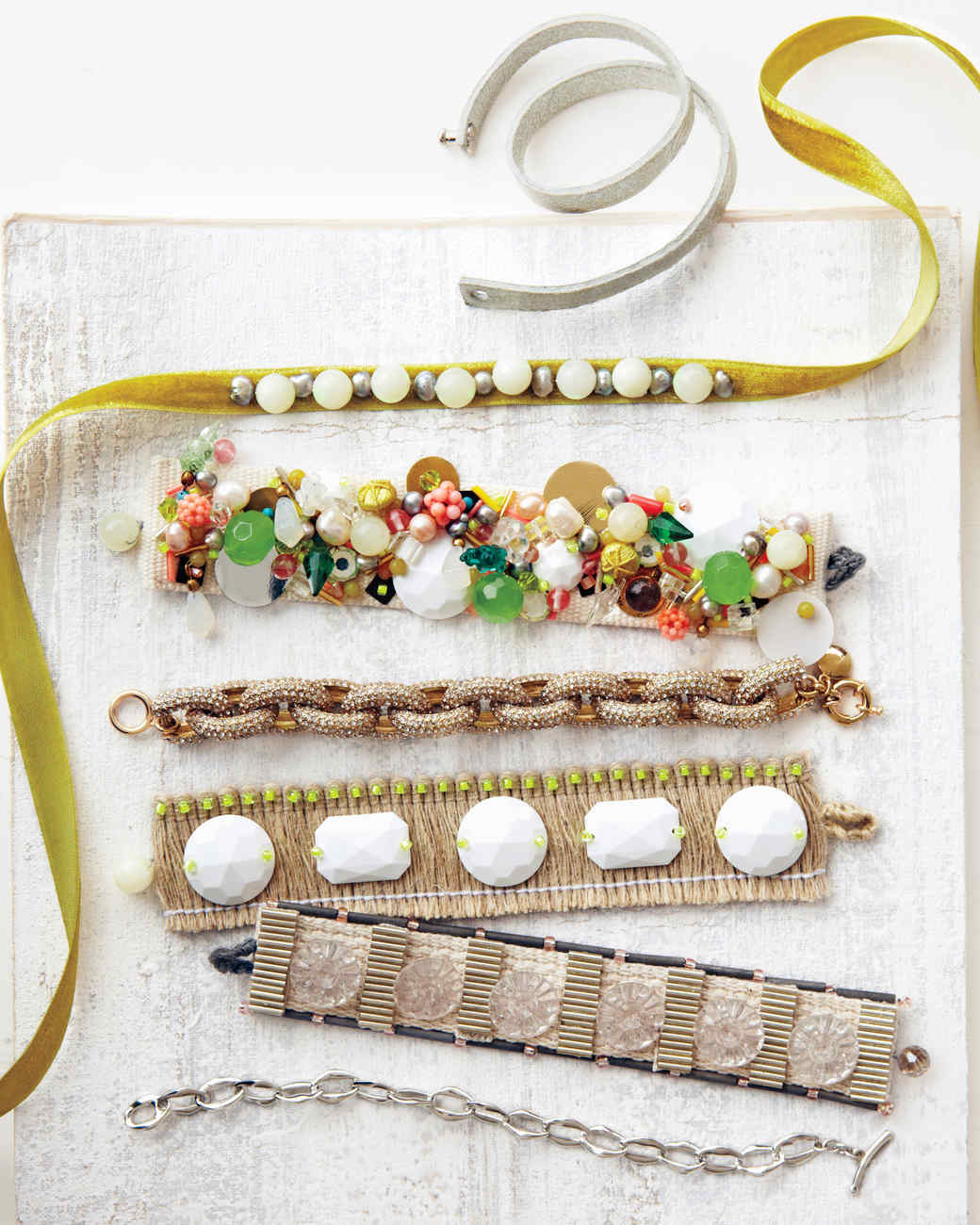 Handmade Fabric Jewelry | Martha Stewart