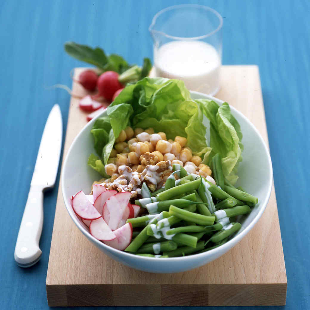 Chickpea Salad with Buttermilk Dressing