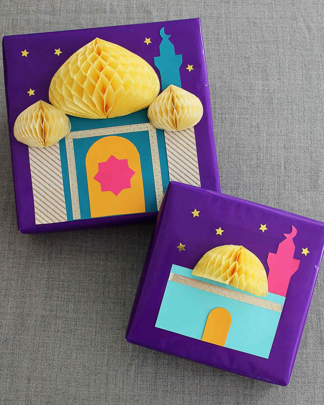 3-D Eid Gift Wrap