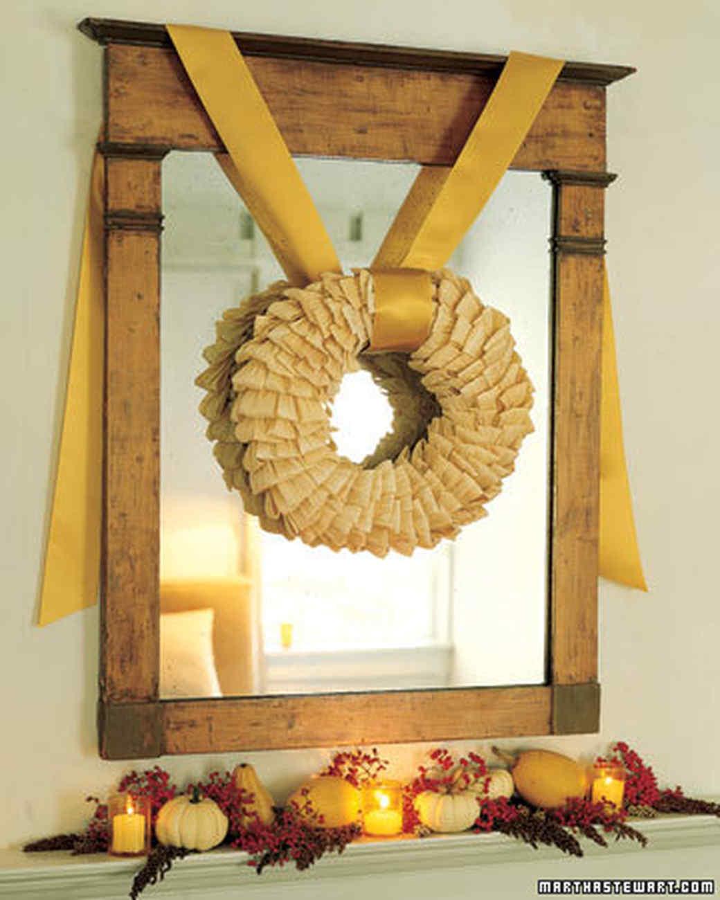 harvest wreath martha stewart. Black Bedroom Furniture Sets. Home Design Ideas