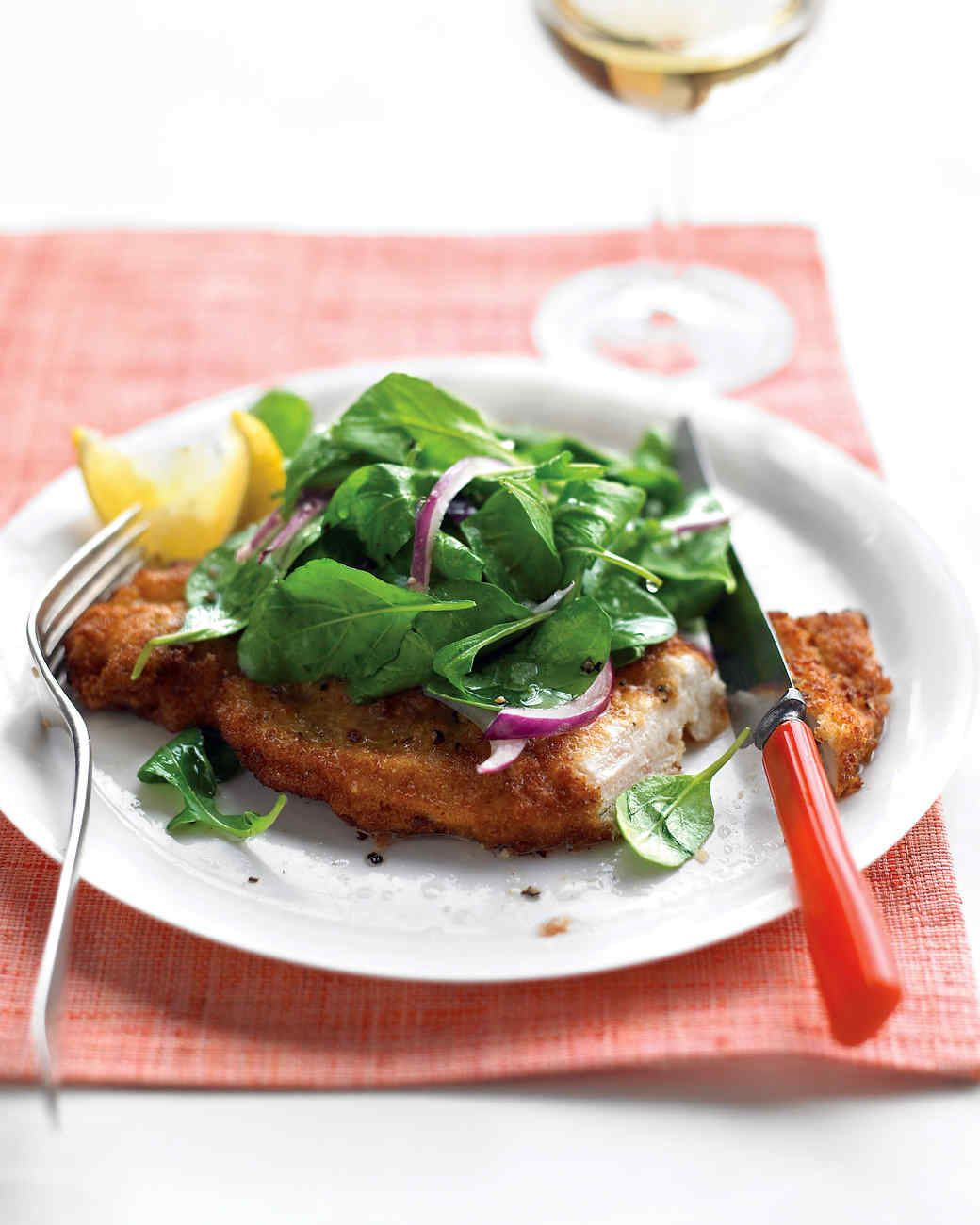 What is chicken milanese recipe
