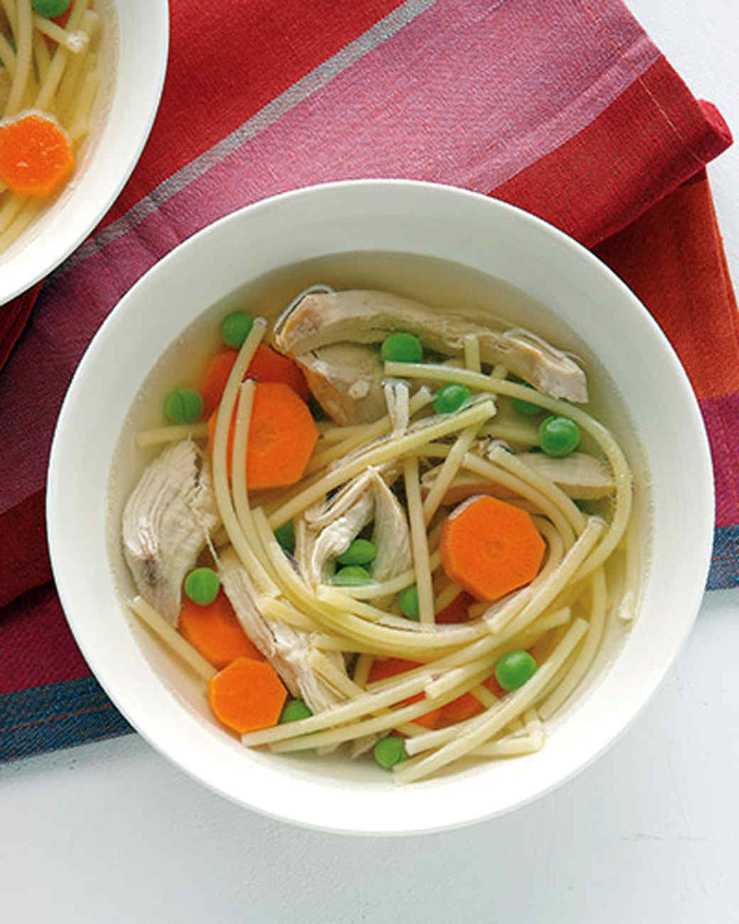 Six-Ingredient Chicken Noodle Soup Recipe