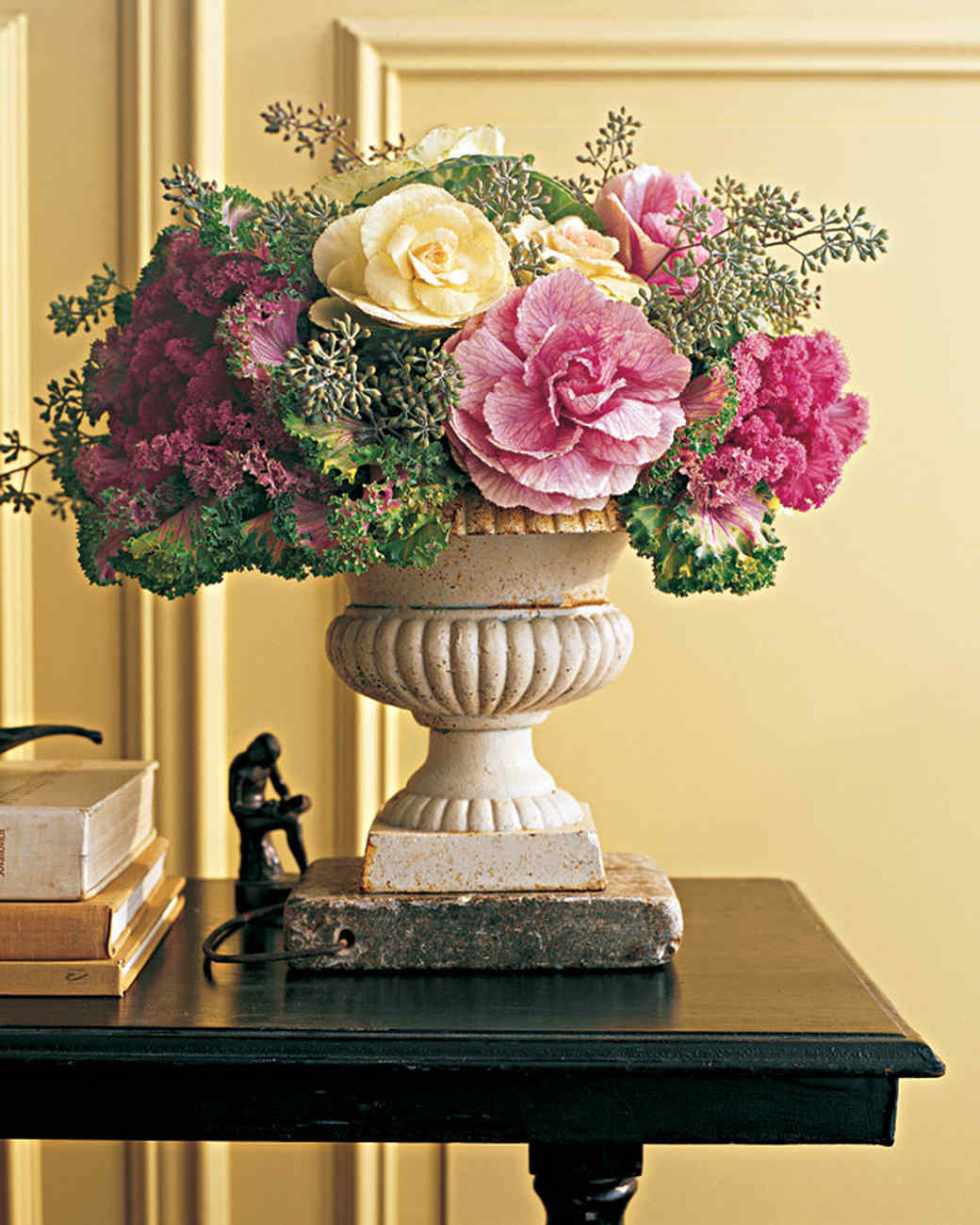 From the Garden: Ornamental Cabbages and Kales