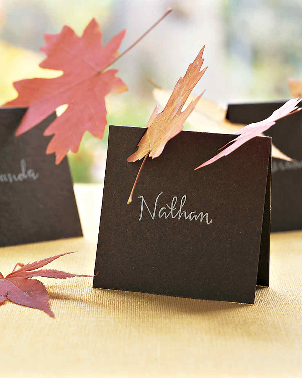 9 best DIY Thanksgiving place cards to try for your holiday feast. Click to see a variety of fun place cards to make with the kids! #Thanksgiving #placecards #tablesetting #tablescape #etiquette #manners