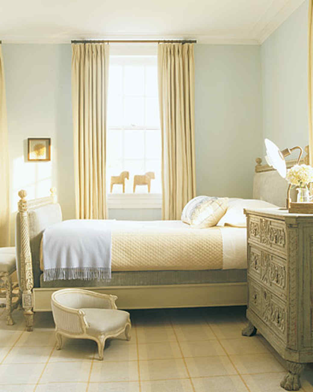 Swedish Bedrooms home tour: american colonial | martha stewart